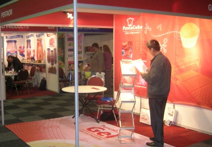 Our Booth - Interbake Africa 2013